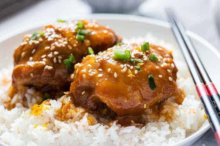 Sesame Orange Chicken Side